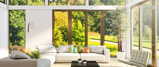 Balkontüren Holz
